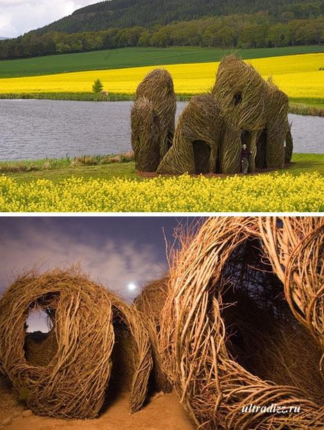 Оригинальные ландшафтные скульптуры Патрика Дуэрти
