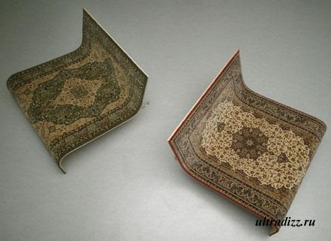 Нестандартный дизайн ковровых изделий