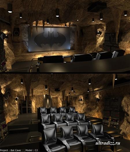 Тематический дизайн домашних кинотеатров
