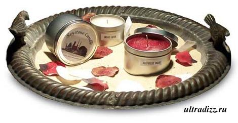 дизайн свечей в виде консервов