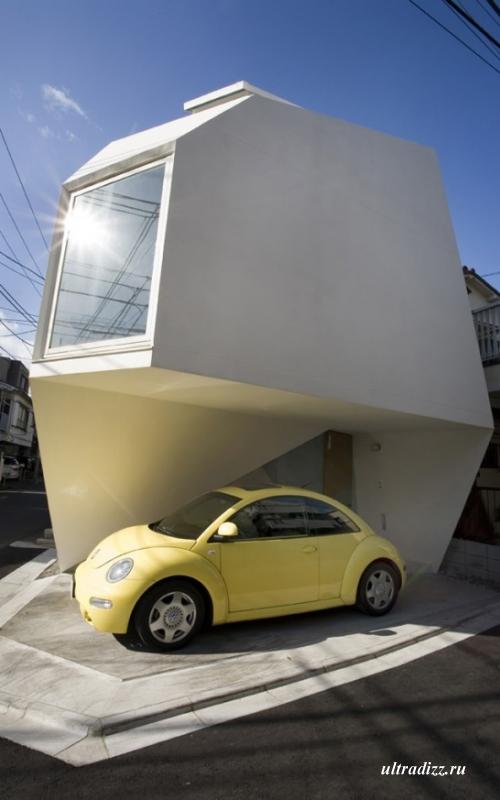 оригинальный дом в Токио