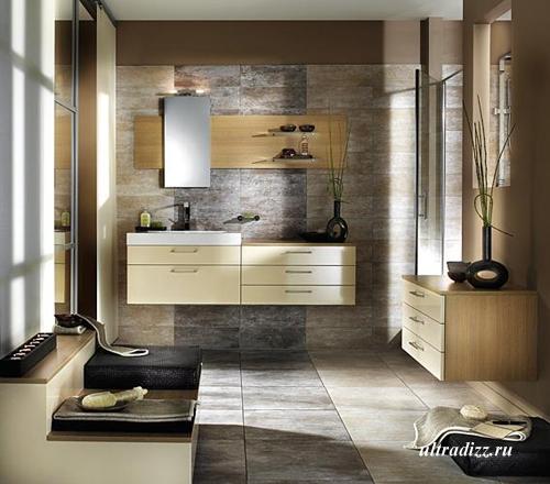 стильная ванная фото