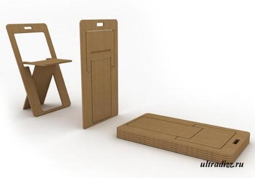 супер плоские стулья