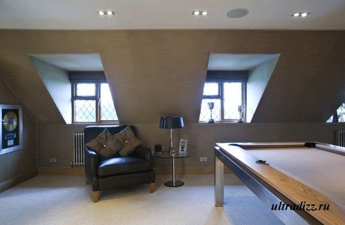 современая бильярдная комната