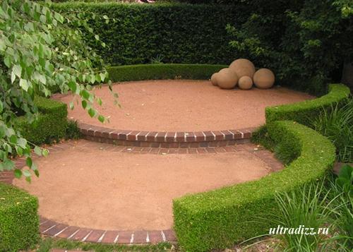 дизайн загородного ландшафта