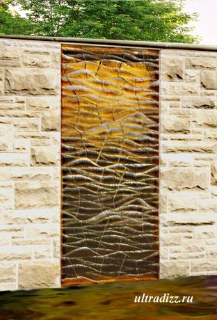 стеклянные элементы стен