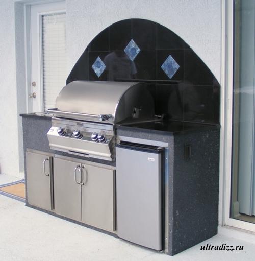 оборудование летней кухни