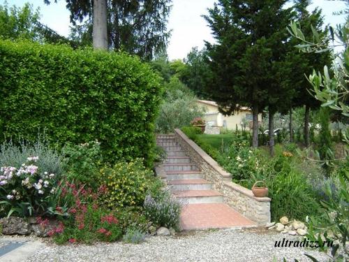 загородный дом в тосканском стиле
