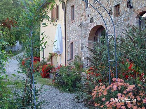 загородный тосканский дом
