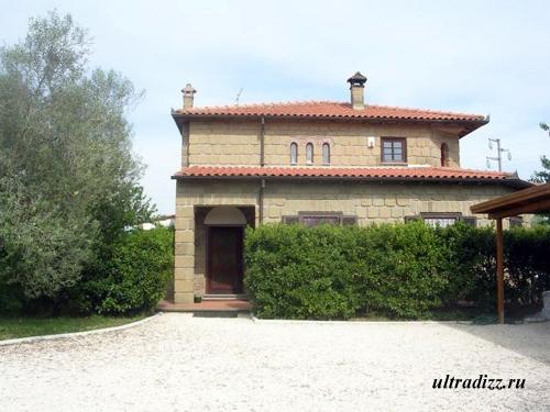 традиционный тосканский дом