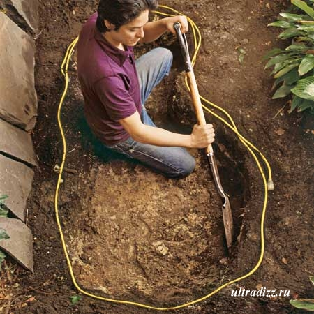 как построить пруд самостоятельно