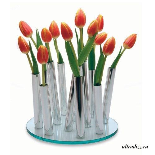 оригинальная современная ваза
