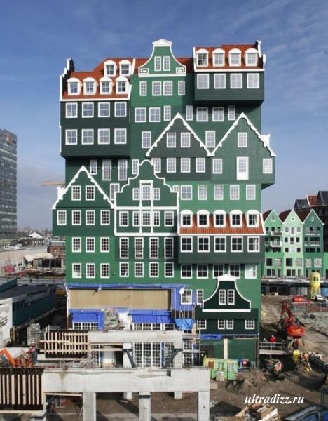современный дизайн отеля