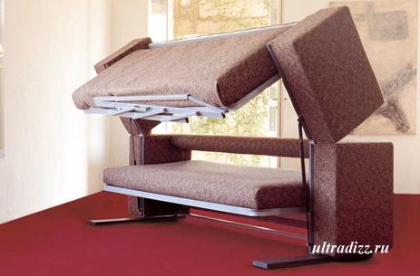 современный диван трансформер