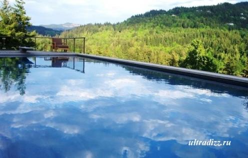 бассейн в ландшафтном дизайне фото