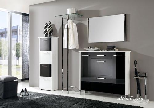 комплект мебели для маленькой прихожей фото