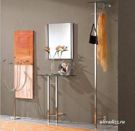 мебель в интерьере маленькой прихожей фото