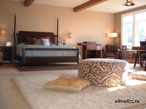 ковры в романтическом интерьере