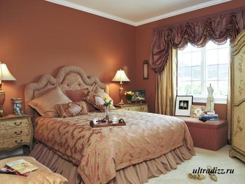 спальня в романтическом стиле фото