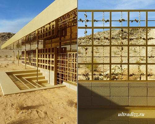 Золотой дом в Калифорнийской пустыне