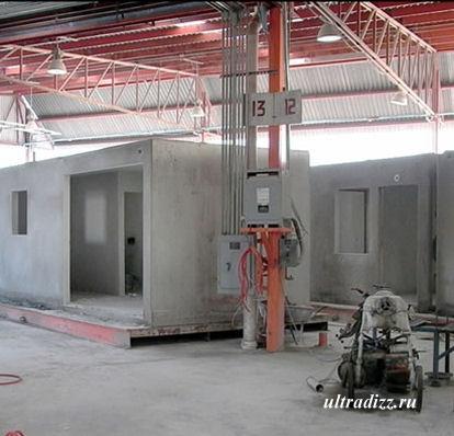 производство типовых домов из ячеистого бетона