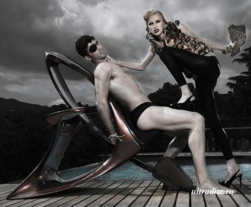 уникальное массажное кресло Йорди Милла