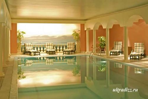 элитный встроенный бассейн