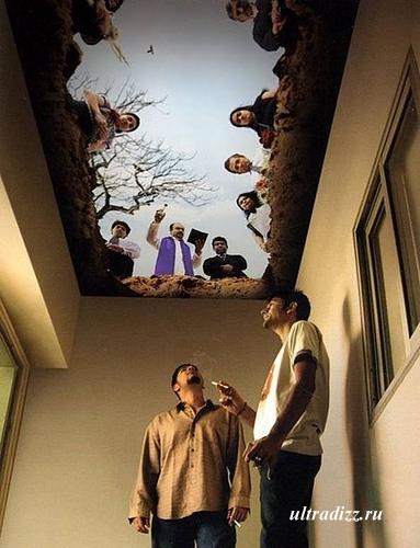 дизайн комнаты для курения