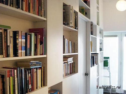 коридор-библиотека