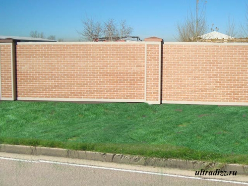бетонный забор2