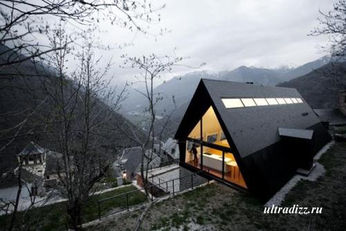 домик в горах Каталонии