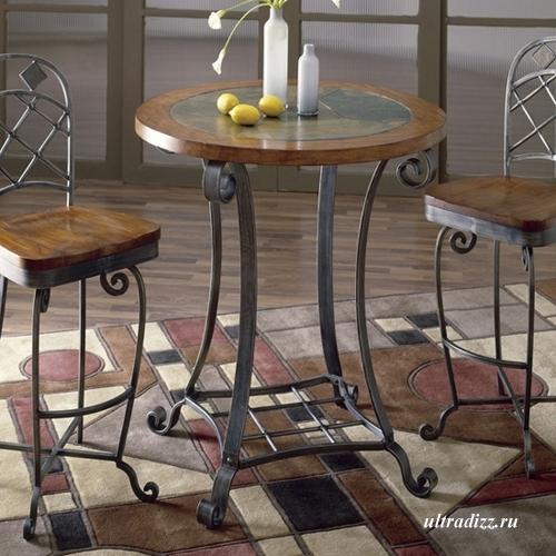 мини барный столик со стульями