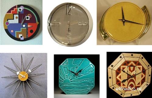 образцы часов арт деко