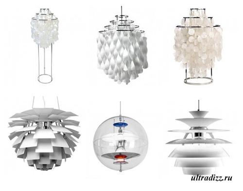 светильники в стиле арт деко