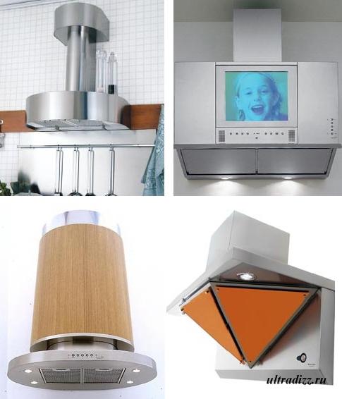 функциональные кухонные вытяжки