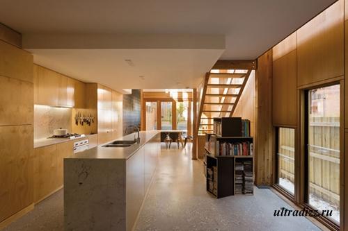 зона кухни в доме