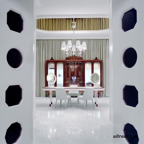 дизайн ювелирного салона