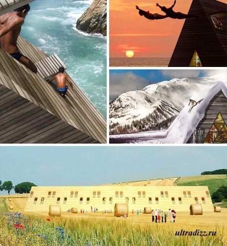 виды домов пирамид