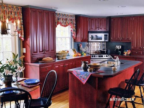 мебель на заказ для нестандартной кухни
