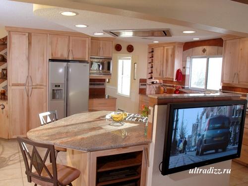 мебель для кухонной зоны в студии