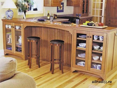 мебель для кухни в студии