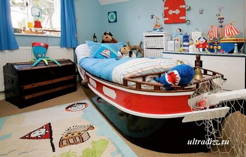 пиратская тема в детской