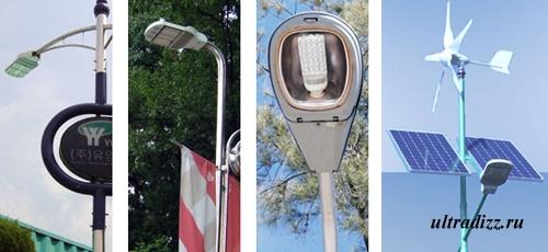 светодиодные энергосберегающие фонари