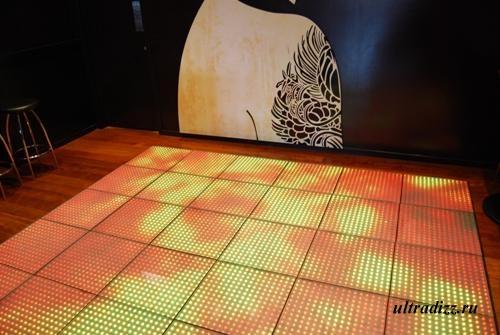 светодиодная подсветка танцпола