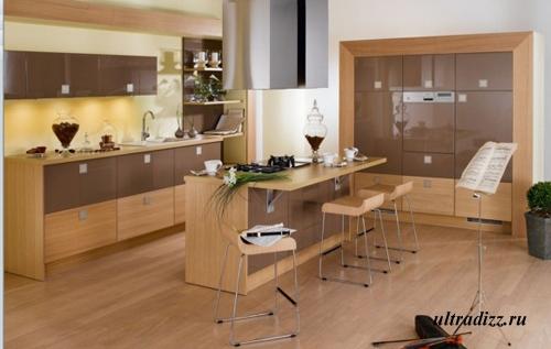 кухонный стол + бар
