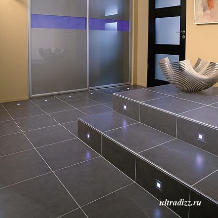 керамическая плитка со светодиодным освещением