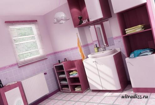 цветовые сочетания в ванной комнате