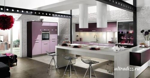 цветовые сочетания в интерьере кухни