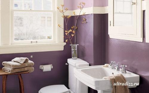 цветовые сочетания в интерьере ванной