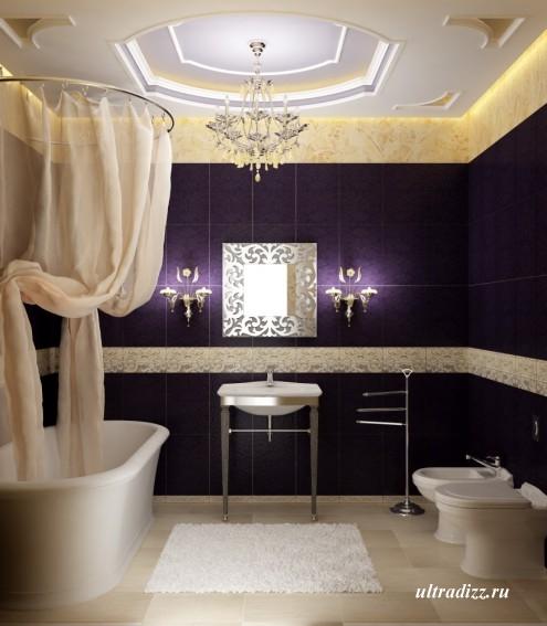 современные цветовые сочетания в интерьере ванной